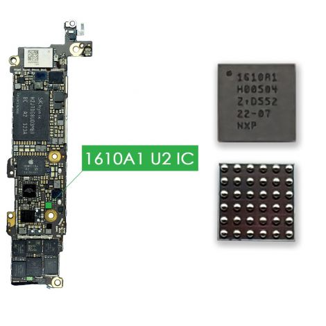 U2 Charging IC Tristar Chip 1610A1 Chip for iPhone 5S, iPhone 5C, iPad Mini 2, iPad Air