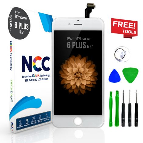 NCC ESR Black Accurate Colour Tested LCD Screen Display Digitizer for iPhone 6 Plus