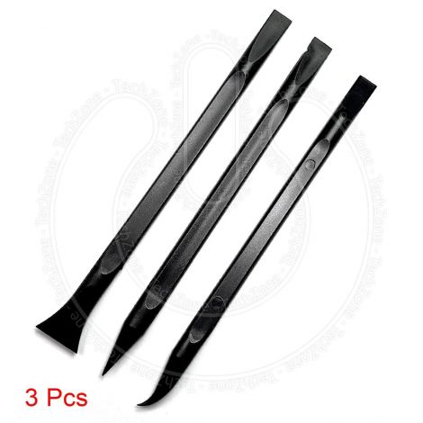3Pcs iPhone Mobile Motherbaord Opening Pry Nylon ESD Safe Black Plastic Spudger