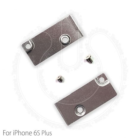 Apple iPhone 6S Plus 5.5'' Battery Power Connector Metal Bracket Shield Cover Plate & Screws