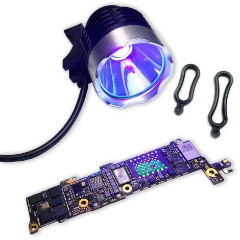 Mobile PCB Repair UV Solder Mask Curing Light Lamp USB 5V 10W Ultraviolet LED