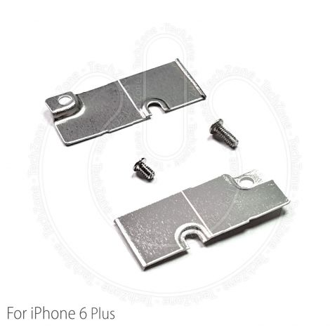 Apple iPhone 6 Plus 5.5'' Battery Power Connector Metal Bracket Shield Cover Plate & Screws