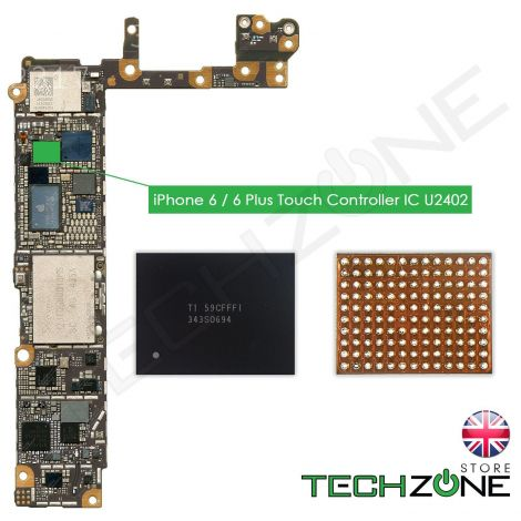 U2402 Screen Controller Black Meson Touch IC 343S0694 Chip for Apple iPhone 6 & iPhone 6 Plus