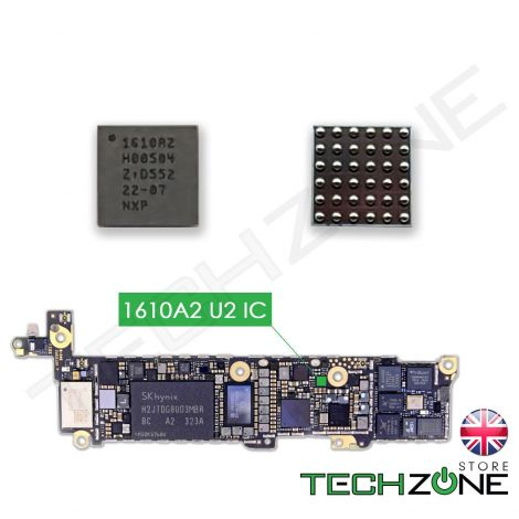 U2 Charging ic Tristar Chip 1610A2 for iPhone 5S, iPhone 5C, iPhone 6, iPhone 6 Plus, iPad Air 1 & 2, iPad Mini 2 & 3