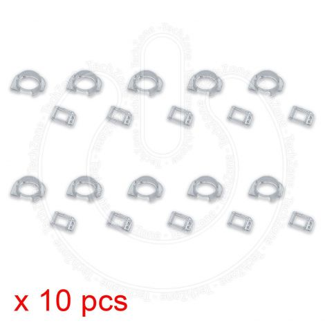 10 X Proximity Sensor, Front Camera Plastic Holder Clip Bracket for Apple iPhone 6 & iPhone 6 Plus