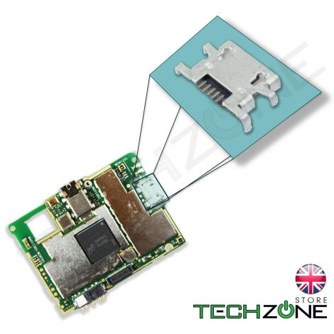 Micro USB Charging Port Charger Socket Connector for Sony Xperia M C1904 C1905
