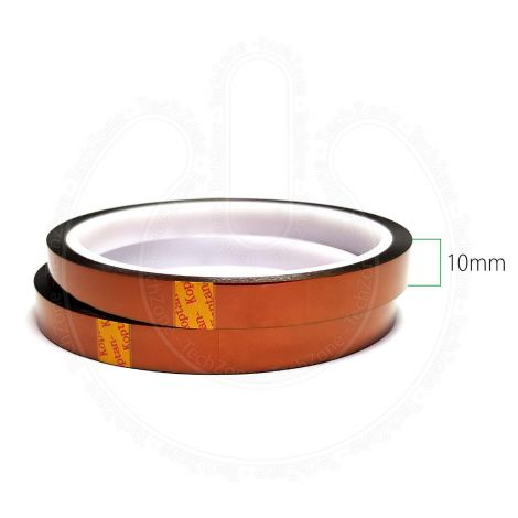 High Temperature Heat Resistant Kapton Polyimide Tape for BGA SMD Mobile Repairs Soldering [Width 10 mm, Length 33 m]