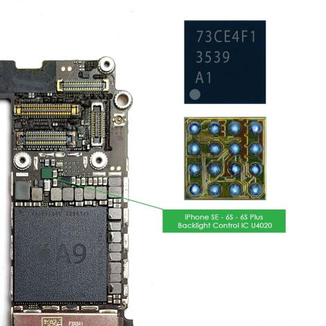 U4020 U4050 Backlight IC Boost Control Driver Chip for iPhone 6S 4.7'', 6S Plus 5.5'' & iPhone SE