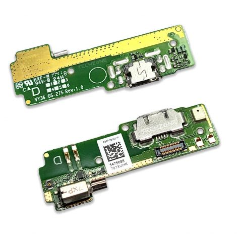 Micro USB Charging Port Mic Vibrator Board for Sony Xperia XA F3111 F3112 F3113