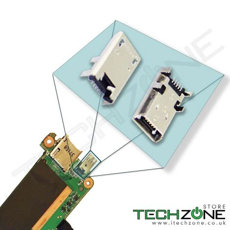 Micro USB Charging Port Charger Connector Socket for Asus Memo Pad 7 ME176C ME176CX K013
