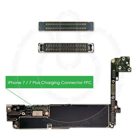 Apple iPhone 7, iPhone 7 Plus Logic Board Charging FPC Connector Terminal J4101