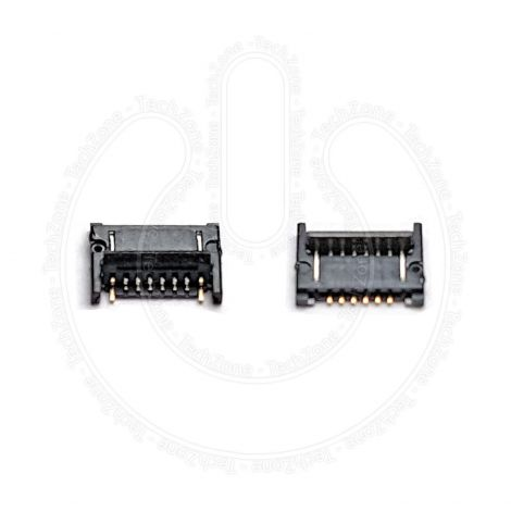 Home Button FPC Connector 6 Pin Socket Plug for Apple iPad 3 Generation A1416 A1430 A1403 Models