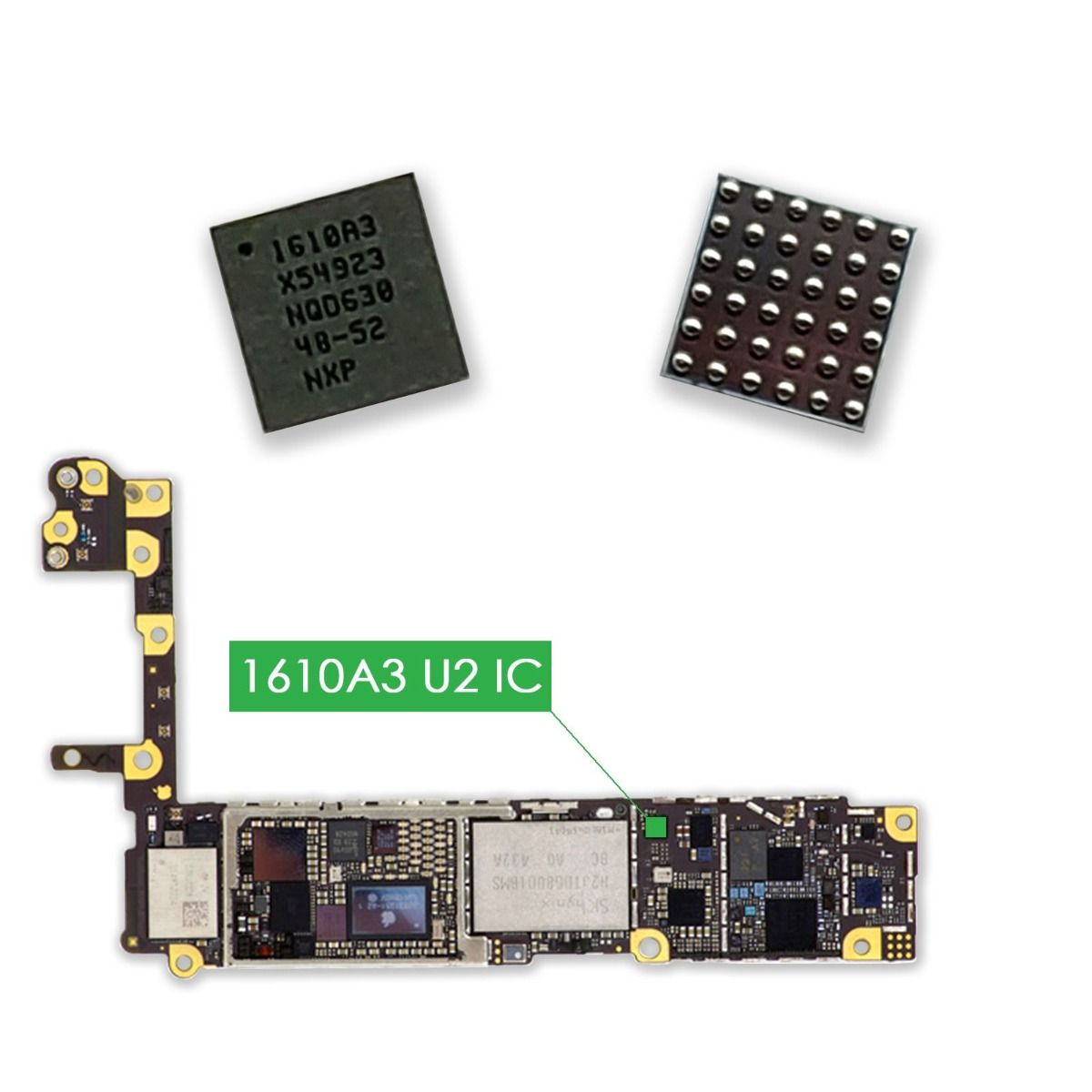 U2 Charging IC Tristar Chip Power IC 1610A3 for iPhone 6, iPhone 6 Plus, iPhone SE, iPhone 6S, iPhone 6S Plus