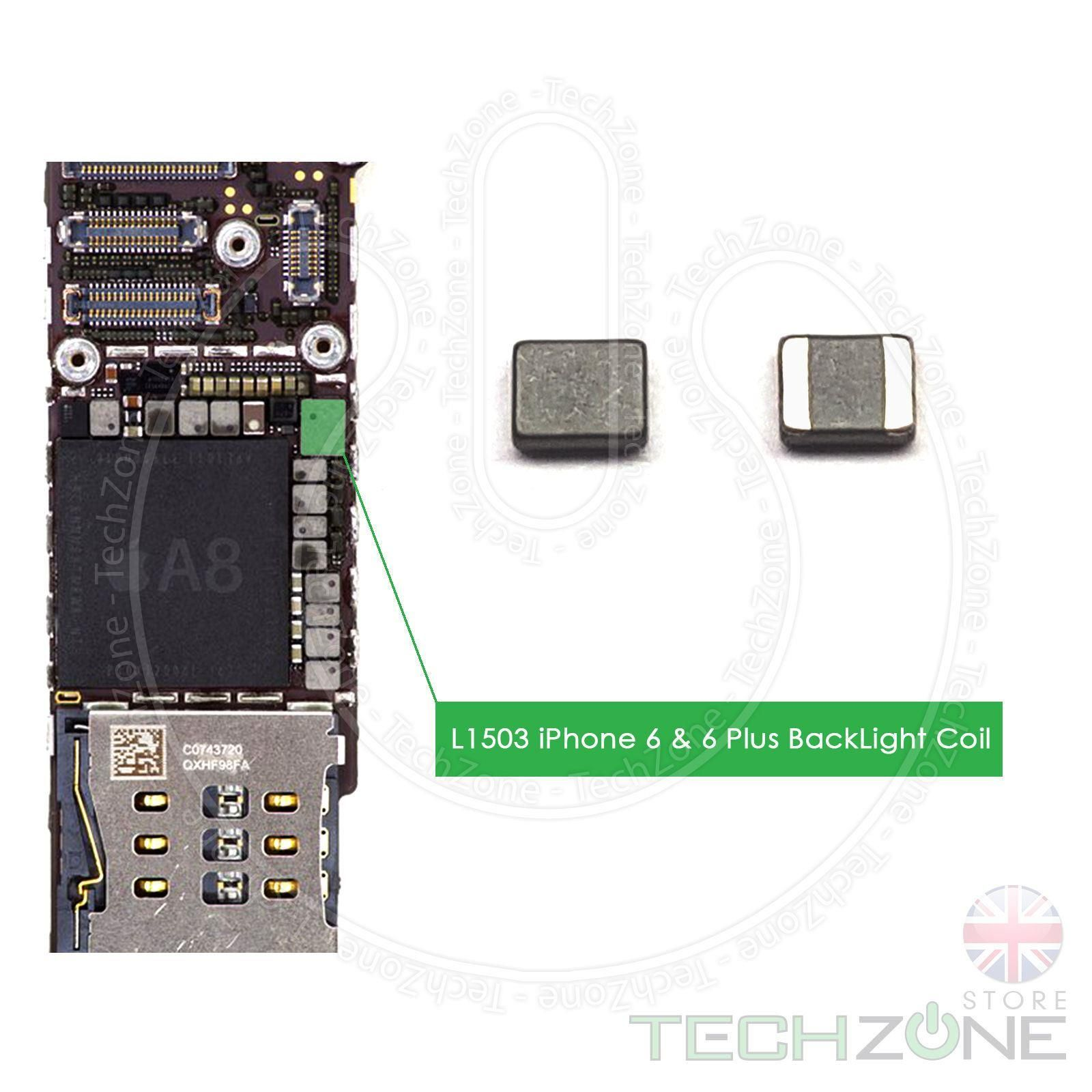 quite nice dd039 3cee8 Backlight Coil L1503 for Apple iPhone 6 4.7'' & iPhone 6 Plus 5.5'' LCD  Back Light Repair