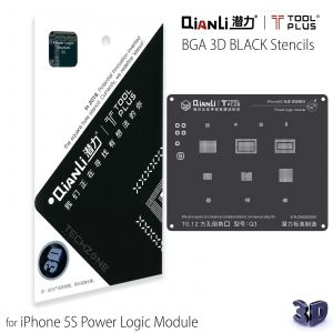 QianLi ToolPlus 3D Black Direct Heat Stencil for iPhone 5S Power Logic Module