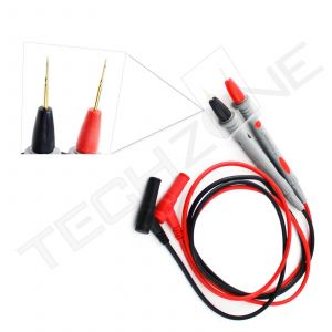 Thin Needle Multimeter Voltmeter Tester Cable Universal Probe Test Lead cord