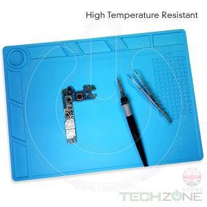 Heat Insulation Silicone Pad Soldering Mobile iPhone Repair Maintenance Mat