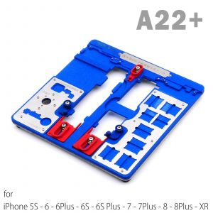 Mijing A22+ iPhone Mobile Phone PCB Fixtures Repair Holder Tool Platform 5S-XR