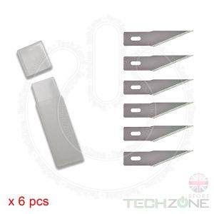 Engraving Scalpel Surgical Knife Blade 6 Set for Craft Mobile i Phone PCB Repair