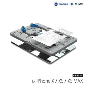 G-LON SUNSHINE SS-601K iPhone X XS XS MAX Middle Layer Logic Board BGA Stencil Reballing Repair Platform Fixture