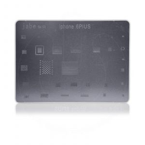 JABE Direct Heat BGA Stencil Metal Template for Apple iPhone 6 PLUS Reball IC